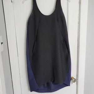 Anthropologie Maeve dress size medium blk/blue